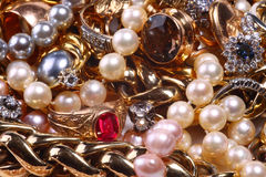 Jewelry treasure Royalty Free Stock Photos