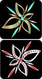 Jewelry vector Royalty Free Stock Image