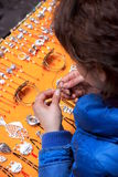 Jewelry Vendor Stock Images