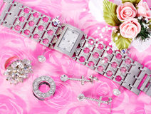 Jewelry and watches Royalty Free Stock Photos
