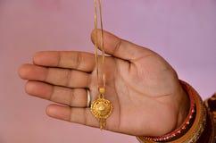 Jewelry In Woman Hand Beautiful Background