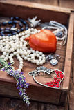 Jewelry women jewelry Stock Images