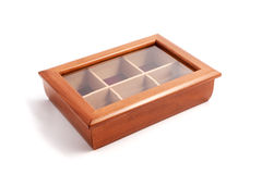 Jewelry Wooden Box Casket Royalty Free Stock Photo