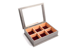 Jewelry Wooden Box Casket Stock Photography