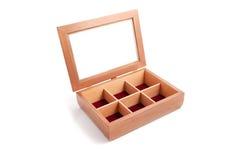 Jewelry Wooden Box Casket Stock Photo