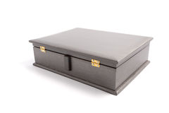 Jewelry Wooden Box Casket Stock Image