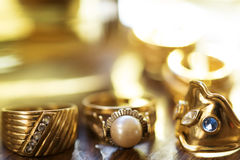 Jewels of family Stock Photography