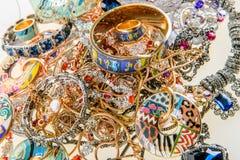 Jewels and precious gemstones Stock Image