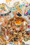 Jewels and precious gemstones Stock Photography