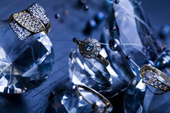 Jewels & Rings Stock Photo