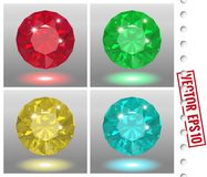 Jewels set Royalty Free Stock Photography