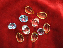 Jewerly topaz Royalty Free Stock Images