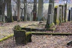 Jewich公墓坟园 免版税库存图片