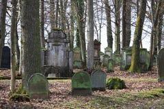 Jewich公墓坟园 库存图片