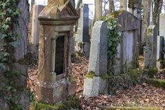 Jewich cemetery graveyard Royalty Free Stock Photography