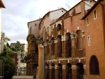 Jewish architecture in Rome Royalty Free Stock Photos