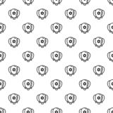 Jewish ballons pattern seamless vector stock illustration