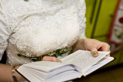 Jewish bride Stock Photography