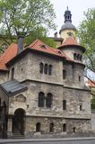 Jewish caremonial-hall in prague Royalty Free Stock Photo
