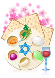 Jewish celebrate pesach passover with eggs