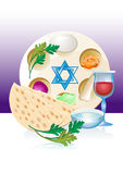 Jewish celebrate pesach passover with eggs Royalty Free Stock Image
