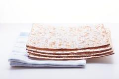 Jewish celebration passover. Matza and Eggs on the table. Jewish celebration passover Royalty Free Stock Photo