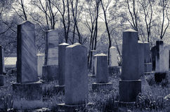 Jewish cementery Stock Photography