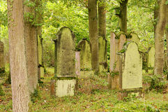 Jewish cemetary Royalty Free Stock Images