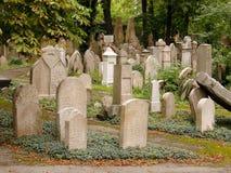 Jewish cemetery. In Prague, Zizkov, Czech republic Stock Image