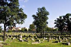 Jewish Cemetery 2. Old Jewish cemetery (Bialystok, Poland stock image