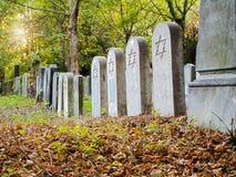 Jewish Cemetery Royalty Free Stock Image