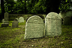 Jewish cemetery Stock Photography