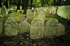Jewish cemetery Stock Photo