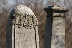 Jewish cemetery in Budapest Royalty Free Stock Photography
