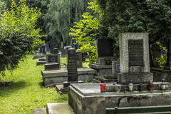 The Jewish Cemetery Stock Image