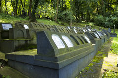 The Jewish Cemetery Stock Photo