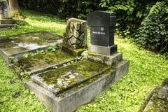 The Jewish Cemetery Stock Image