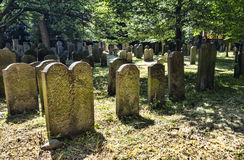 The Jewish cemetery in  Copenhagen, Denmark Royalty Free Stock Image