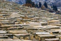 Jewish cemetery, Jerusalem, Israel Stock Photography