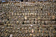 Jewish cemetery, Jerusalem, Israel Royalty Free Stock Photos