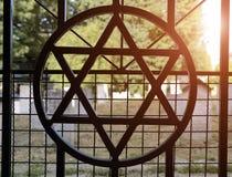 Jewish cemetery in Kazimierz in Krakow, Poland Royalty Free Stock Photography