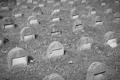 Jewish cemetery in Milan Stock Image