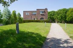 Jewish cemetery in Muiderberg Stock Image