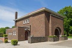Jewish cemetery in Muiderberg Royalty Free Stock Image