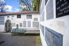Jewish Cemetery next to Remuh Synagogue Stock Photo