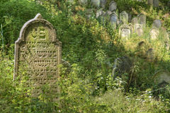Jewish Cemetery - Nove Sedliste Stock Images