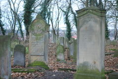 Jewish cemetery royalty free stock photos