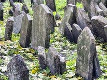 Jewish cemetery, Prague Stock Image