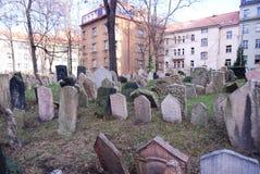 Jewish Cemetery - Prague, Czech Republic Stock Photography