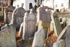 Jewish Cemetery - Prague, Czech Republic Stock Images